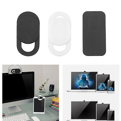 9 Pack WebCam Cover Slide Camera Privacy Security for Phone MacBook Laptop