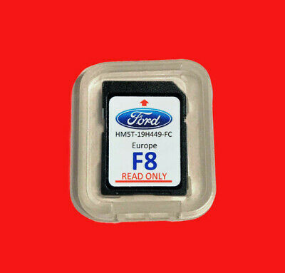 2018 2019 Ford F7 Europe Map Sd Card Sony Sync Touchscreen F5 F6 Original