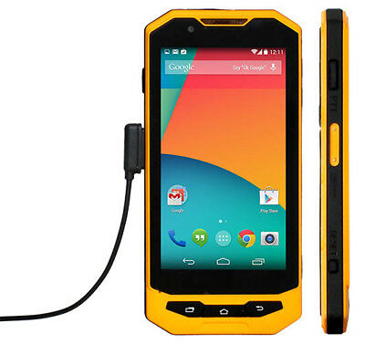 "Magnetic Charging 5"" Rugged Android Smartphone 4G LTE, Unlocked, Waterproof IP67"