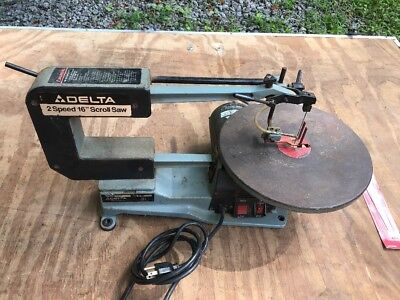 "Delta Model 40-560 2 Speed 16"" Scroll Saw - Local Pickup Only"