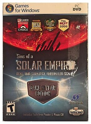 Sins of a Solar Empire: Game Of The Year Edition