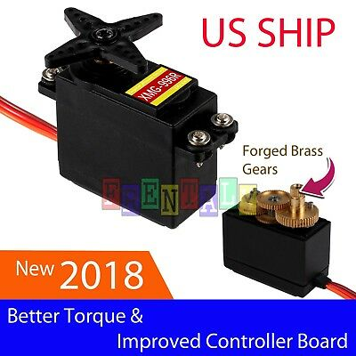 XMG996R 55g Gear Servo Motor Big Torque For RC Helicopter Car Robot Arduino
