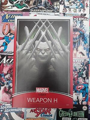 Weapon h #1 trading card variant.  new bagged and boarded.