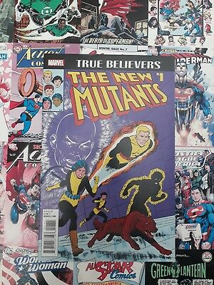 True believers new mutants #1. NEW BAGGED AND BOARDED