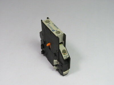 Telemecanique LA8-DN11 Auxiliary Contact Block 1NO/1NC  USED