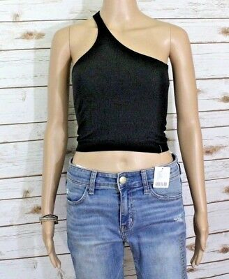 e9b8d6ad093 New Womens Small Urban Outfitters Asymmetrical One Shoulder Ribbed Crop  Tank Top