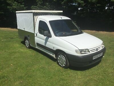 """Citroen Berlingo Jiffy Truck """"sold as a project"""" lots of profit left in this"""