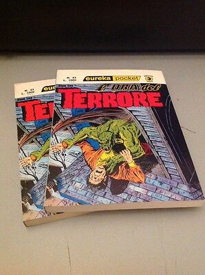 EUREKA POCKET # 43 - L'Ora del Terrore di Stan Lee - Editoriale Corno 1977