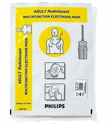 Philips - M3716A Multifunction Adult/Child Electrode Pads, Radiolucent