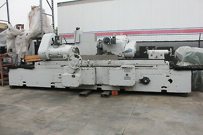 """18"""" Swing x 96"""" Centers Landis Cylindrical OD Grinder Updated Electrics"""