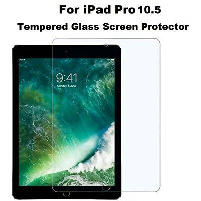 Genuine Tempered Glass Screen Protector Fit For Apple iPad Pro 10.5 2017 5th Gen