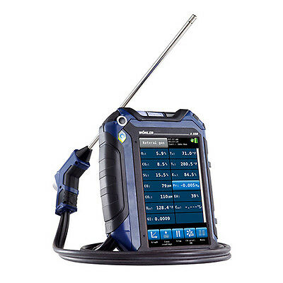 Wohler A550SO2 (7765) Flue Gas Analyzer with NO/NO2/SO2 Sensor
