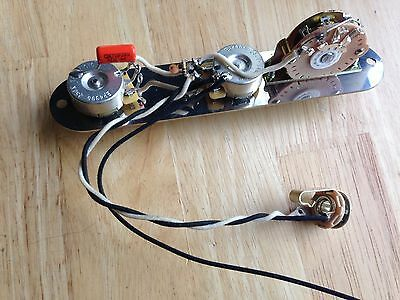 Wondrous Telecaster Wiring Kit Cts 250K Crl Switch 033 Cloth Wire Switchcraft Wiring Cloud Oideiuggs Outletorg