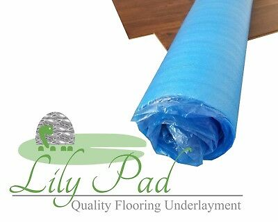 3mm EPE Laminate Flooring Underlayment Foam - LILY PAD 100 SF Roll