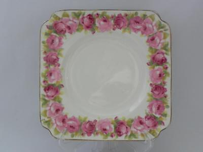 Early ROYAL DOULTON -c1935 **RABY ROSE** D5533 *SIDE PLATE*  - Replacement GOOD