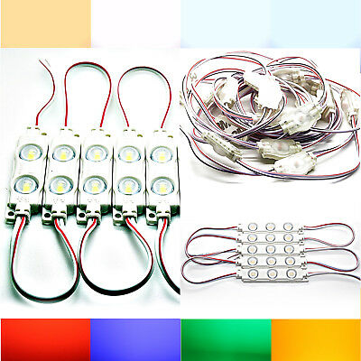 VW T5 with 5 SMD Led - White Blue Red Green Wedge Base Lamp Tacho