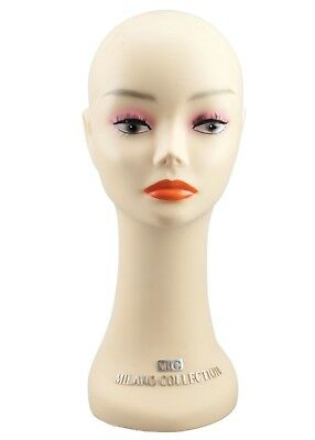 """Milano Collection 16"""" Professional Wig Head/Hat Mannequin."""