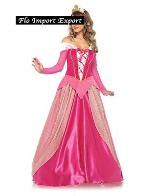 Aurora Vestito Carnevale Donna Dress up Sleeping Beauty Woman Costume AURW04
