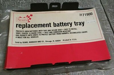 Vintage 1960s 1970s sears robuck and co. # 2871900 replacement battery tray new