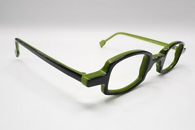 970cc43eb11b Anne Et Valentin Sunglasses Eyeglasses LAO France 7E Green Black 6972