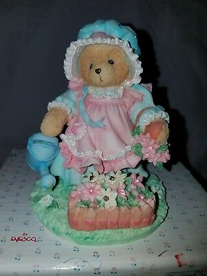 "New Nib 1993 Cherished Teddies ""friendship Blooms..."" 626074 Mary Quite Contrary"