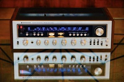 Kr-9400 Vintage Stereo Receiver Warm White Led(14-Lamps)Meter Front Dial Panel