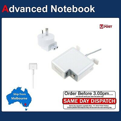 "AU Power Adapter Charger for 13"" Apple MacBook Air A1466 2013 2014 2015 16 2017"