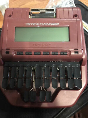 Stenograph 8000, Maroon tons of accessories: All proceeds go to saving this dog