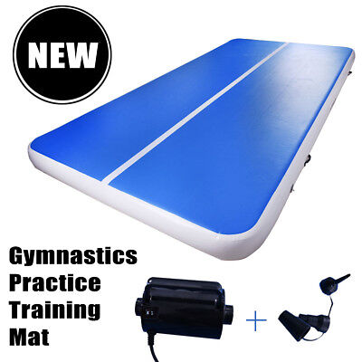 Inflatable Air Tumbling Gym Mat Track Gymnastics Cheerleading Mat 300x100x10cm