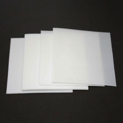 PTFE Sheet High Temperature Teflon Film Plate Plastics 0.5/1/2/3/4/6mm Thick