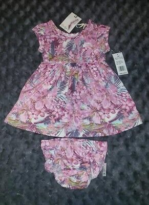 Nwt Jessica Simpson Baby Girl Clothes 18 Months 2 Flower Dress