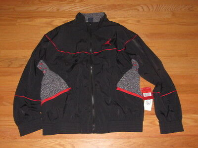 db7d671a53ab4d NIKE AIR JORDAN 3 AJ3 VAULT WOVEN JACKET 897410 010 BLACK Large L sample