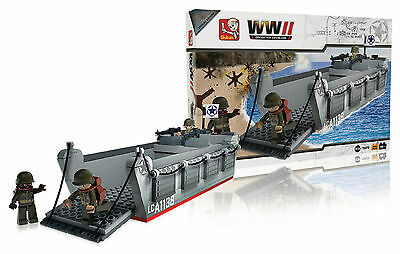 Bausteine WWII Operation Overlord Landing Craft