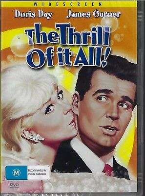 The Thrill Of It All DVD Doris Day New and Sealed Australia All Regions