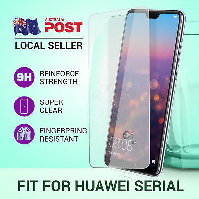 9H Tempered Glass Screen Protector Film For Huawei P20 P10 Plus Mate 10 Pro 9 Y7