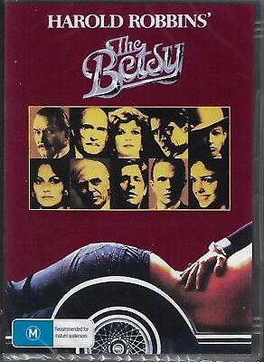 The Betsy DVD Harold Robbins' New and Sealed Australian Release