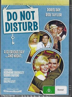 Do Not Disturb DVD Doris Day New and Sealed Australia All Regions