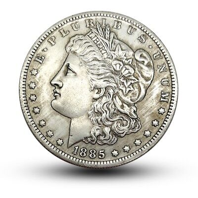 1885 Morgan Dollar Morgan Coin US One Dollar American Eagle Coin Commemorative