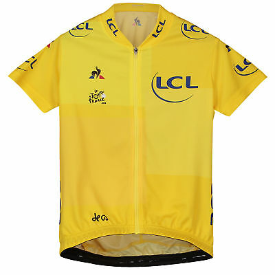 Le Tour de France TDF 2018 Replica Jersey Shirt Enfant Empire Yellow Kid Cycling