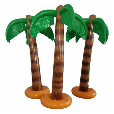 90cm Aufblasbare Palme Palm tree Inflatable Strandzubehör Sommer Party Dekor DE