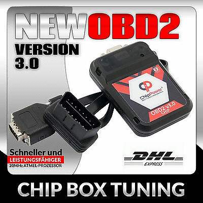 OBD2 Chiptuning Opel Insignia 1.8 140PS Benzin Tuning Chip Box Ver.3