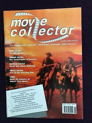 "Sep/Oct 1993 Vol 1 Issue 1 UK Magazine ""MOVIE COLLECTOR"" JOHN WAYNE"