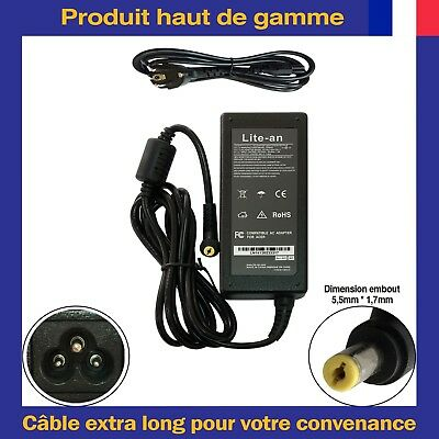 Chargeur d'Alimentation 65W Pour Acer Aspire MS2254 MS2253 P5WE6 PEW71 PEW76