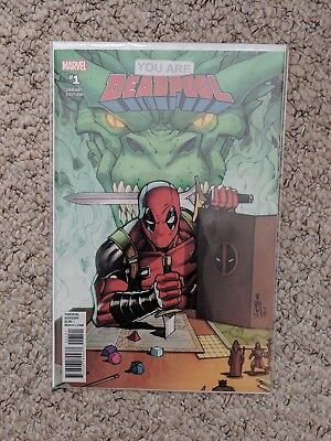 You Are Deadpool #1 Variant Edition Rom Lim  1St Print ( Bagged And Boarded )
