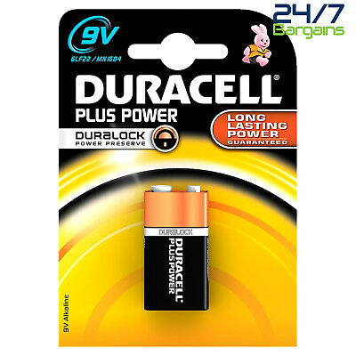 Duracell Duralock Plus Power 9 V x 1 Alkaline Battery – (6LR61)