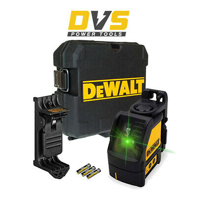 Dewalt DW088CG 2 Way Self-Levelling Cross Line Laser GREEN CHANGE WITH NEW