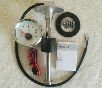 Fuel Level Gauge With Sender,240-33 Ohms,Oil Tank Level,2''/52mm,Universal Car