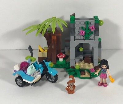 Used 100 Complete Friends Lego 41032 First Aid Jungle Bike Free