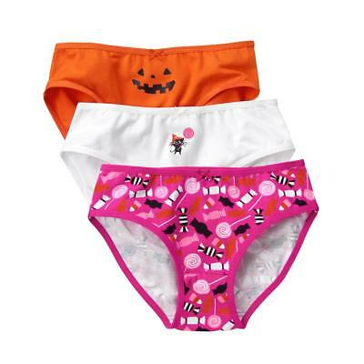 Gymboree 4T 4 underwear underpants panties 3-pack pumpkin cat Halloween NWT