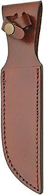 Sheaths SH1162 Leather Sheath Brown Fits Up To 6 Fixed Blade